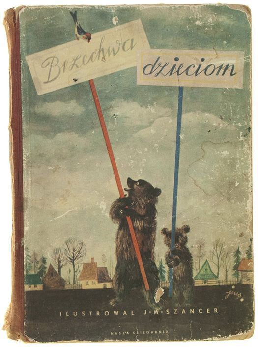 Children's Books in Poland: The 1950s  First in a series of posts highlighting the Polish children's book collection of Aleksandra & Daniel Mizieliński, aka Hipopotam