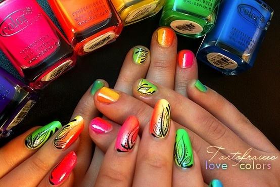 color nail art