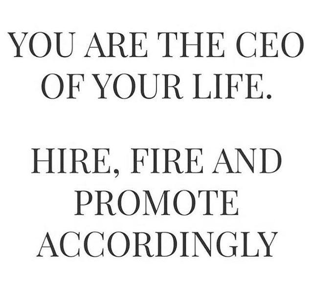 Sie sind der CEO Ihres Lebens   – QUOTES
