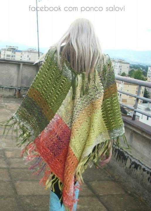 Prodaja unikatnih, ručno tkanih pončoa od najkvalitetnijeg pamuka uvoznog porekla