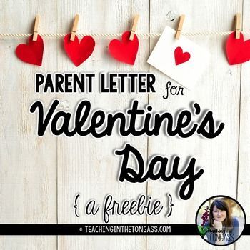 Editable Valentine's Day Letter! Type in student names and send home this parent Valentine's Day letter!