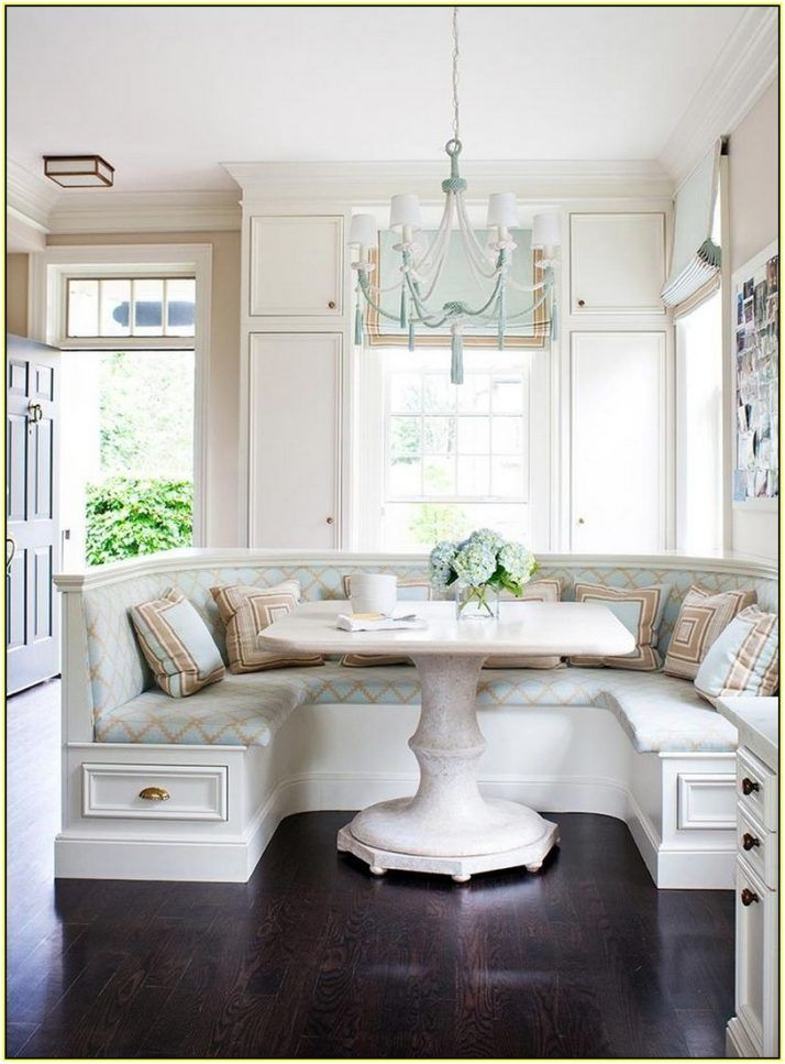 17 best ideas about kitchen corner booth on pinterest corner dining nook kitchen booth table - Kitchen table nooks ...