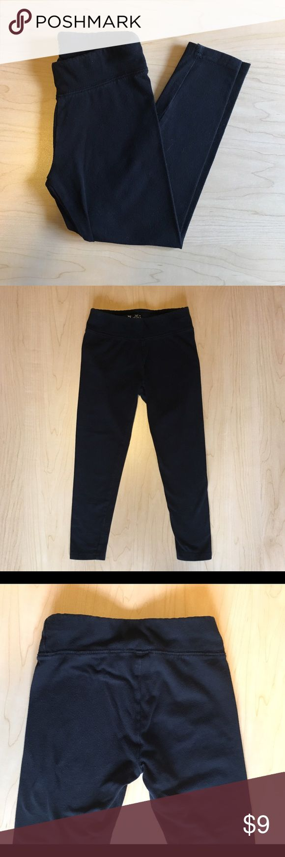 Justice Girls Black Leggings Justice Black Leggings.  Labeled size 7, but run a little small and would also fit a 6.  Good used condition!  Smoke and pet free home. 20% off all 2+ bundles! Justice Bottoms Leggings