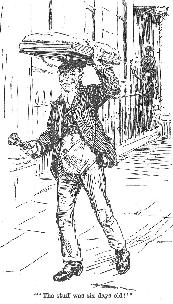 muffin man quiver 1896 Muffin man, Victorian, Drawing