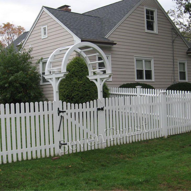 Best eco railings wpc fence pvc poly vinyl