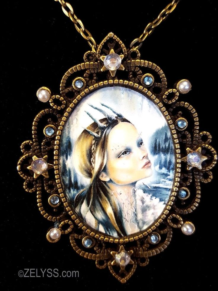 Image of Limited Edition: 'Snow Queen' Print Cameo