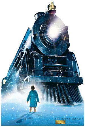 The Polar Express Train - The Polar Express Lifesize Cardboard Cutout