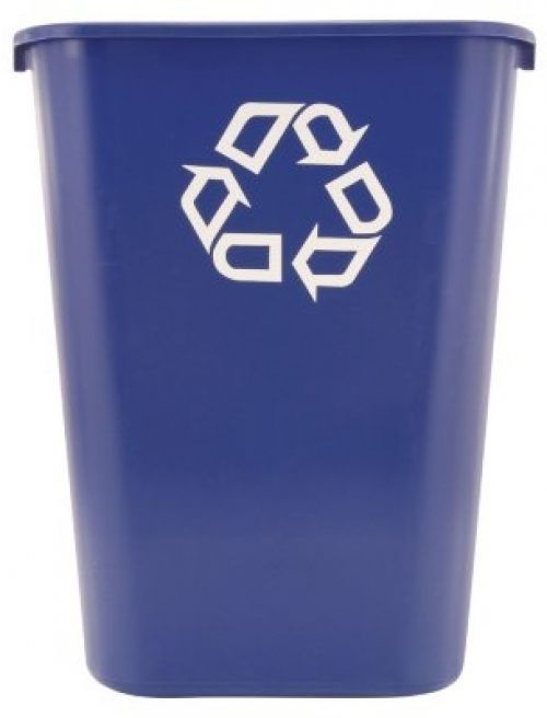 Recycle Bins For Office Paper Recycling Containers Waste Baskets Bin 41 1/4 Qt #Rubbermaid
