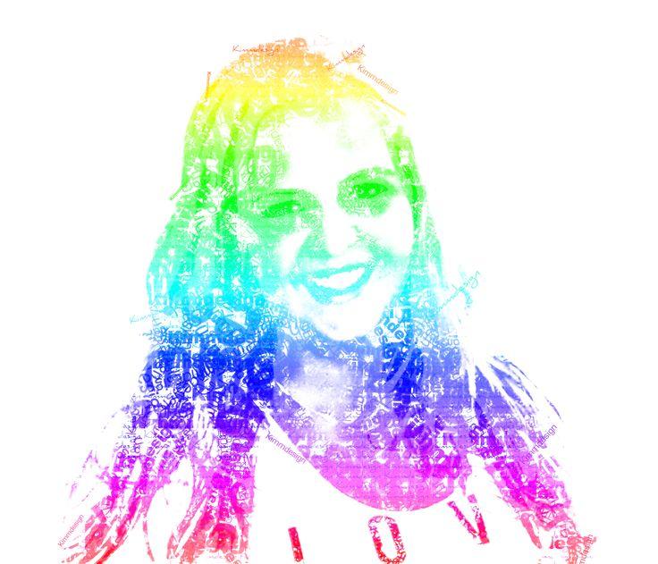 Foto berwerking, tekst en kleurverloop