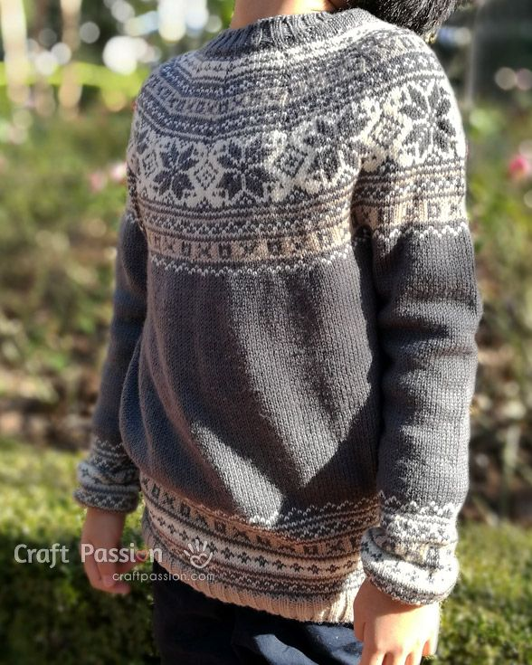 56 best X trui Fair Isle kind images on Pinterest   Knitting, Baby ...