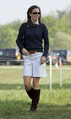 (1) Tumblr - Catherine Middleton attending the Badminton Horse Trials in Gloucestershire. May 2007