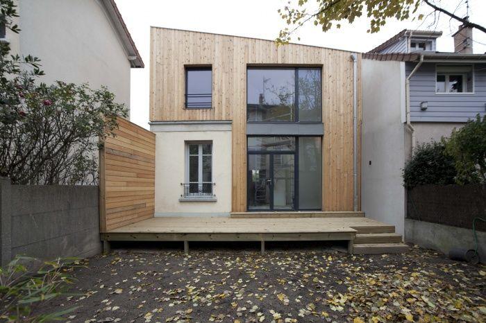 42 best Extension et surélévation bois images on Pinterest House