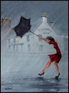 """Poosie Nansies, Mauchline 20"""" x 30"""" Canvas Print available at www.clydecoastgraphics.com"""