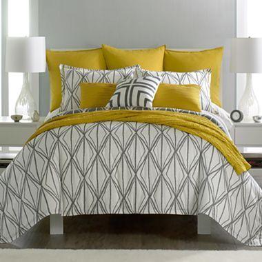 jcp home maya comforter set accessories jcpenney i. Black Bedroom Furniture Sets. Home Design Ideas