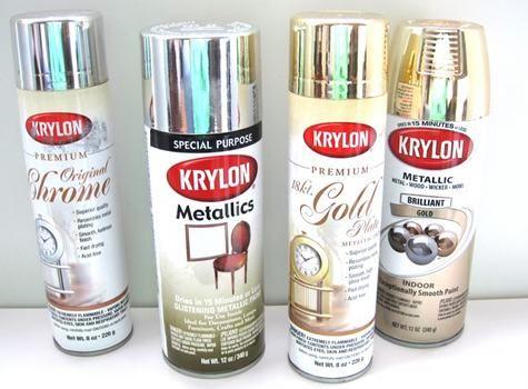 Krylon Metallic Spray Paints Supplies Pinterest
