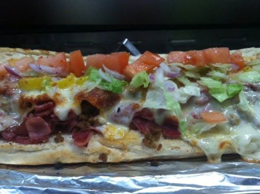 Hoagies are pretty awesome. Here's an Italian hoagie from our Centerville store! www.corleonespizza.com
