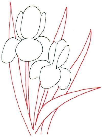 Simple Fabric Flowers