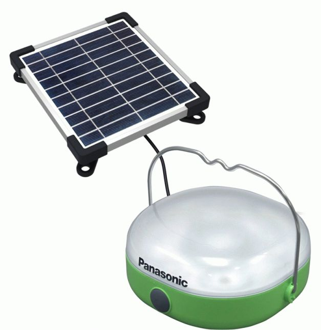 Panasonic Corporation Solar Lantern Charge Small Mobile Devices Like Phones The Company