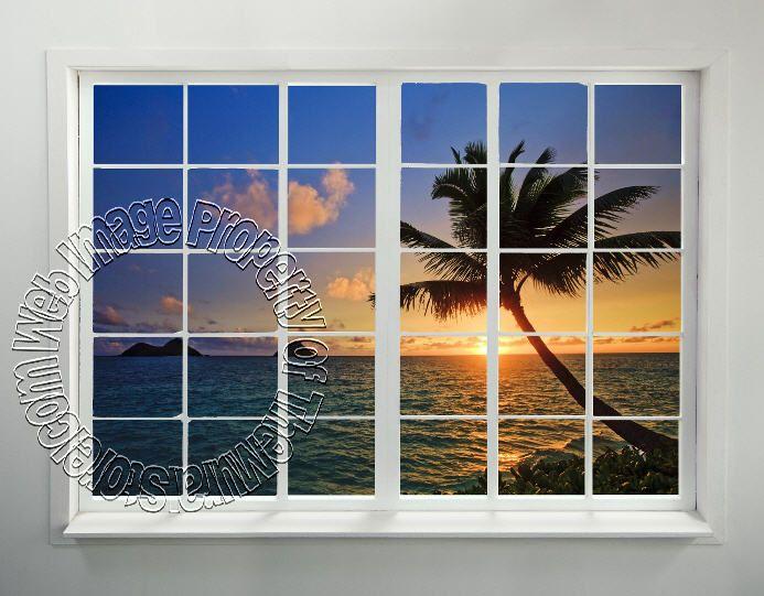 Window Wall Art 149 best realistic faux window! add a window view to any room