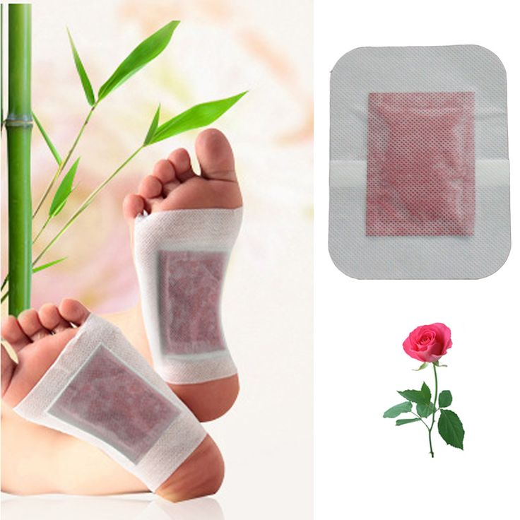 Detox Foot Patch Bamboo Pad Patches With Adhesive Medicine Patches Improve Sleep Beauty Slimming Patch Foot Massage Z06101