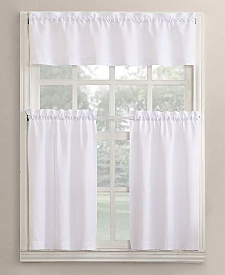 3pc Beige Coffee With Embroidered Gold Floral Kitchen Cafe: Best 25+ Kitchen Curtain Sets Ideas On Pinterest