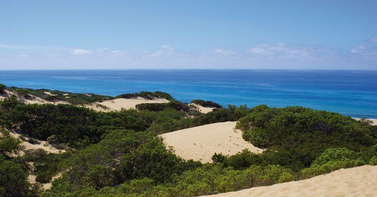 Spiaggia Scivu nel Arbus, Sardegna