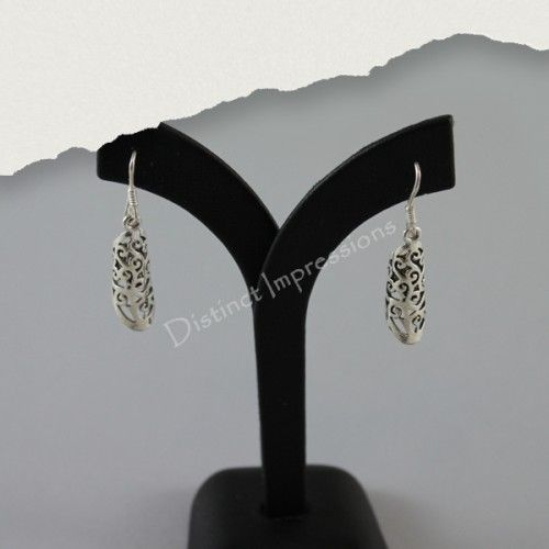 Handcrafted 925 Sterling Silver Earrings