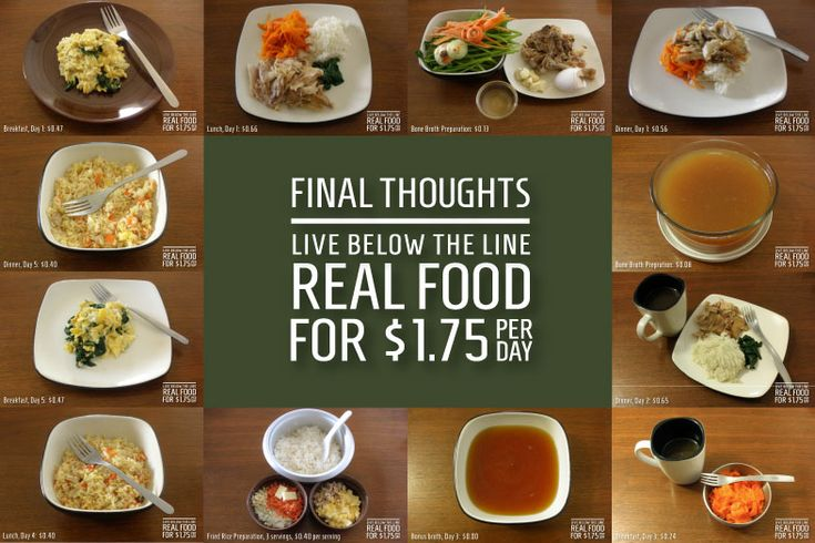 Live Below the Line: Final thoughts after doing the full five-day challenge - The Real Food Guide  More info about Live Below the Line here: http://livebelowtheline.com