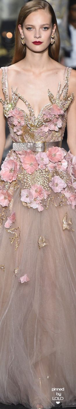 Elie Saab Fall 2016 Couture | LOLO❤︎