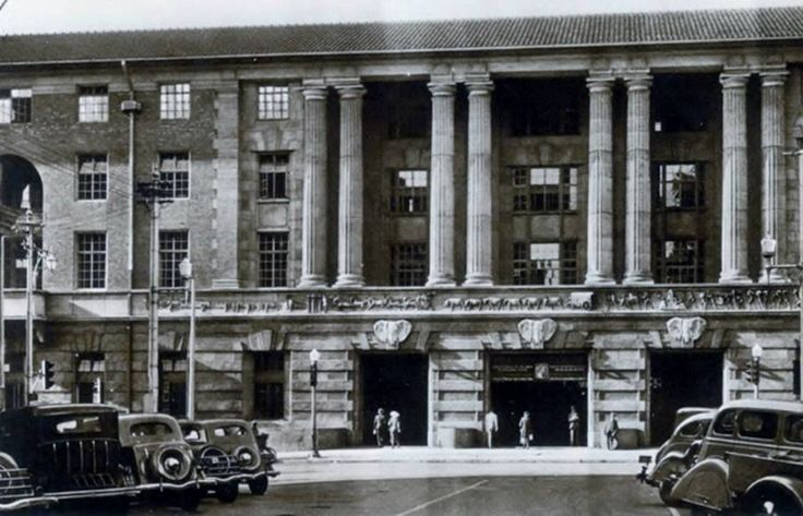 Johannesburg Station late 1930's