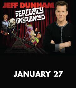 Dunkin' Donuts Center :: Jeff Dunham : Perfectly Unbalanced January 27, 2015