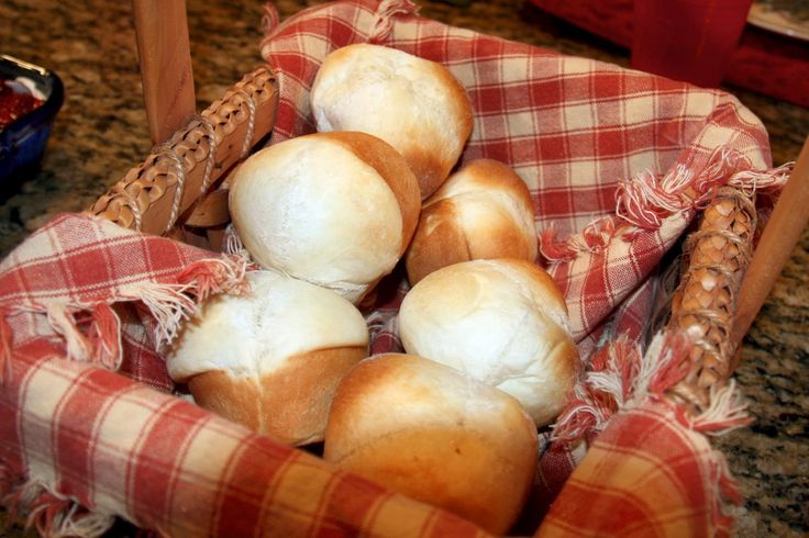 Ok. I lied. These aren't Texas Roadhouse Rolls. They're my great-great grandma's rolls. But they totally rival Texas Roadhouse Rolls. THEY ARE SO GOOD. This recipe is so versatile. We use it for rolls, bread, cinnamon rolls, pizza dough blah blah. It works for everything! Takes five minutes to throw in your bread maker, 2 hours of bread maker magic, 10 minutes to roll up...