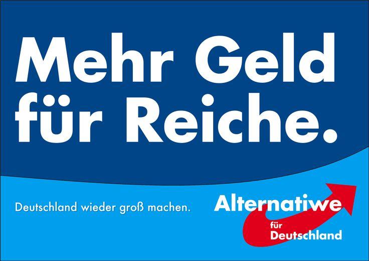 Die AfD plant eine Steuerreform angelehnt an die Ideen von Paul Kirchhof.