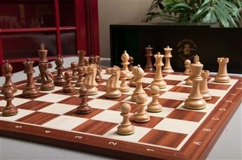 The Grandmaster Chess Set and Board Combination