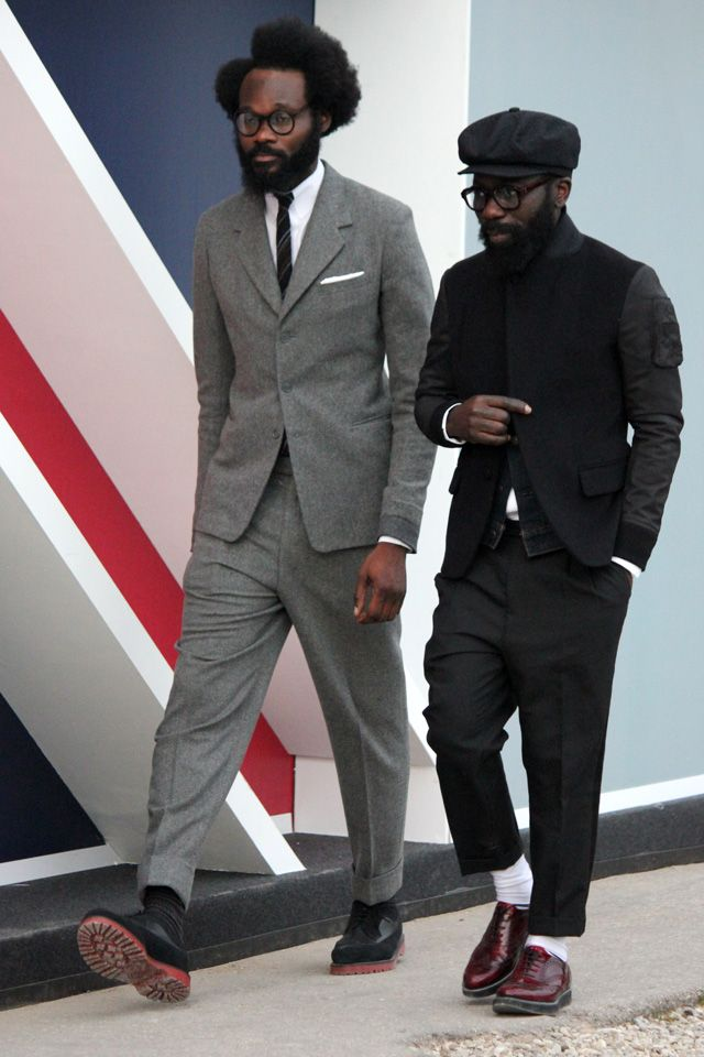 MenStyle1- Men's Style Blog - Men in grey. FOLLOW for more pictures. ...