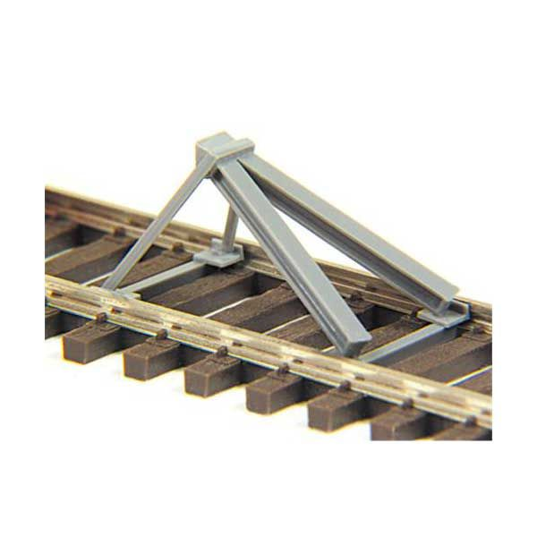 HO Scale Track Stop (Bumper) Kit, Set of 2