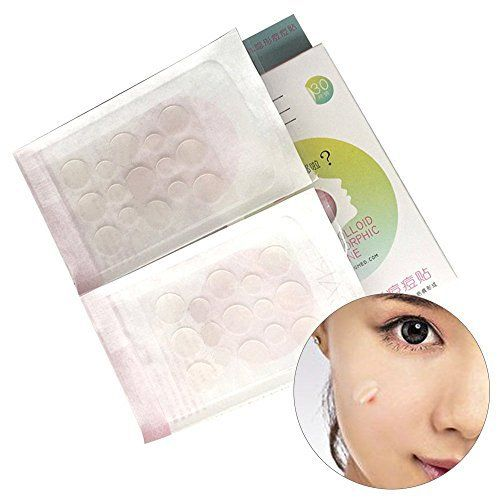 Travelmall Hydrocolloïde Acné Pimple Patch Absorbing Cover 30 Count Hydrocolloïde Pansement Bandage pour l'acné, le bouton, peau Trouble…
