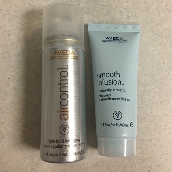 Aveda Makeup - Aveda Travel Size Hairspray and Smooth Infusion