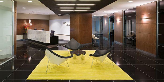 HWL corporate interior design by Graham Nicholas