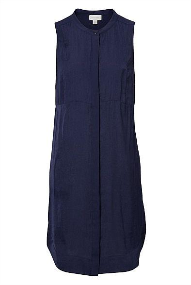 #witcherywishlist Sleeveless Button Through Dress