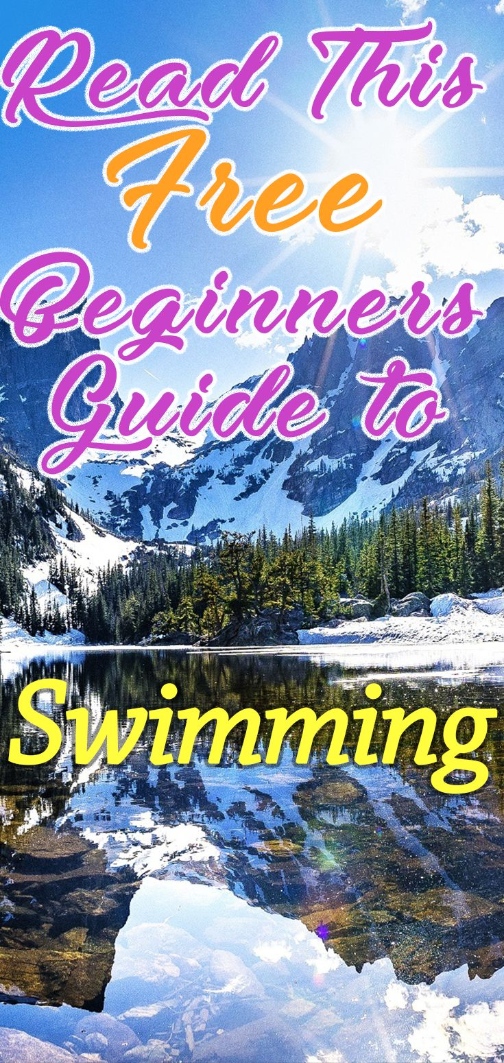 Read This FREE Beginners Guide To Swimming. The perfect way to get into this awesome activity. Whether you want to lose a bit of weight, get super fit, or just teach yourself this essential skill, we have created a starter guide to swimming to get you going. Within the guide is tips on what to do and how to do it, what equipment to get and what to avoid, with detailed reviews on some of the biggest swimming brands.