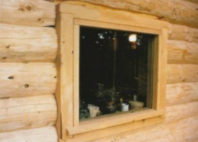 17 best images about log cabin windows on pinterest for Windows for log cabins