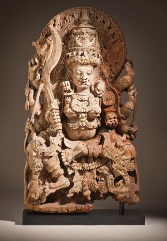The Goddess Kali, 17th century