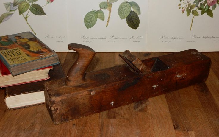 Vintage Wood Plane, Block Plane, Rustic display, Wooden Planers, Vintage Tools, Boho , Collectable, Rustic Prop. by Route46Vintage on Etsy