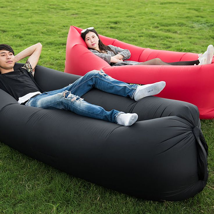 Deux Styles Air Sac de Couchage Repaire Gonflable Hamac Lit D'air Personnalisé Portable Soleil En Plein Air Transat 240*70 cm de Baisse gratuite