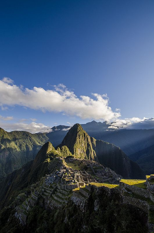 Machu Picchu...Definately want to go there