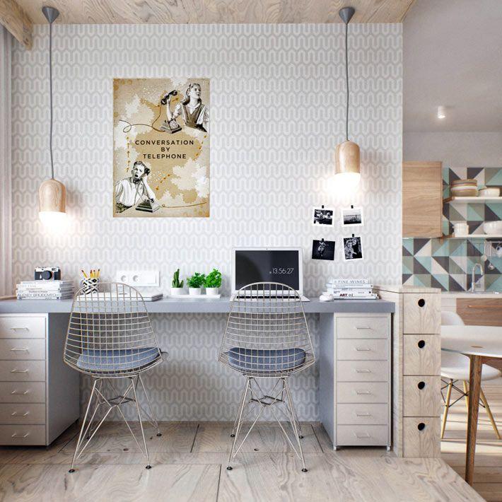 Как правильно организовать уютный офис на дому