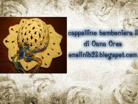 ▶ cappellino bomboniera parte seconda - YouTube