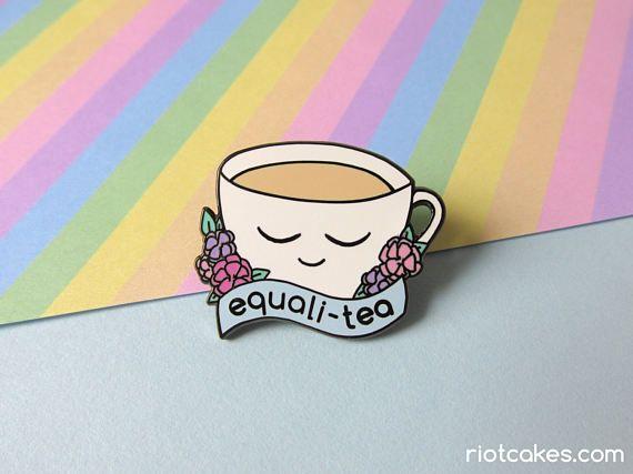 Equali-Tea Enamel Pin