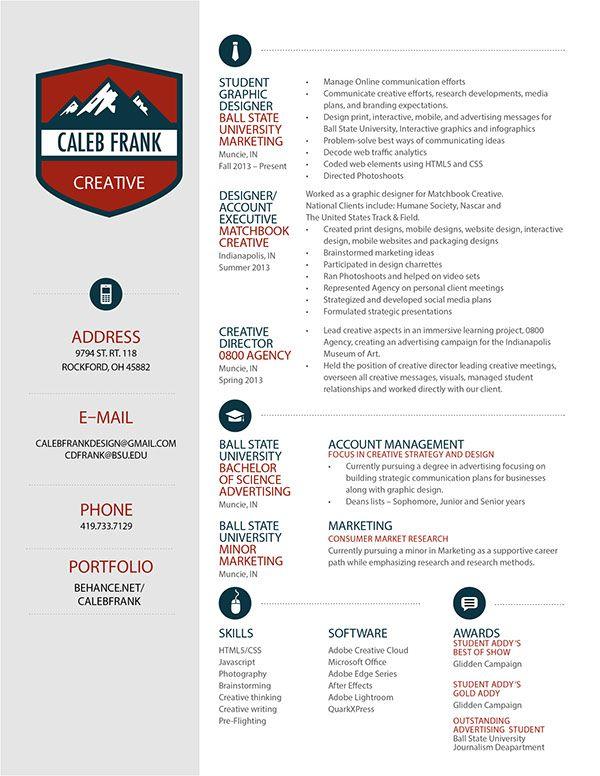 64 best Resume Design images on Pinterest Design resume, Resume - best creative resumes
